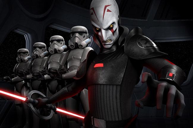 Встречайте Инквизитора, новый злодей в Star Wars Rebels