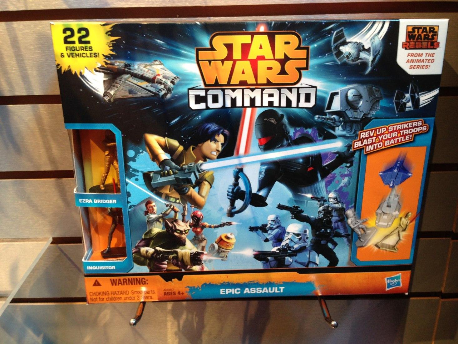 Hasbro представила фигурки Повстанцев