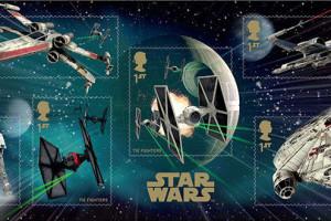 В Британии выпустят серию марок «Звездные войны»
