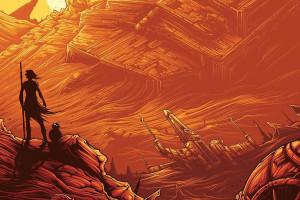 IMAX-постер фильма «Звёздные войны: Пробуждение Силы»