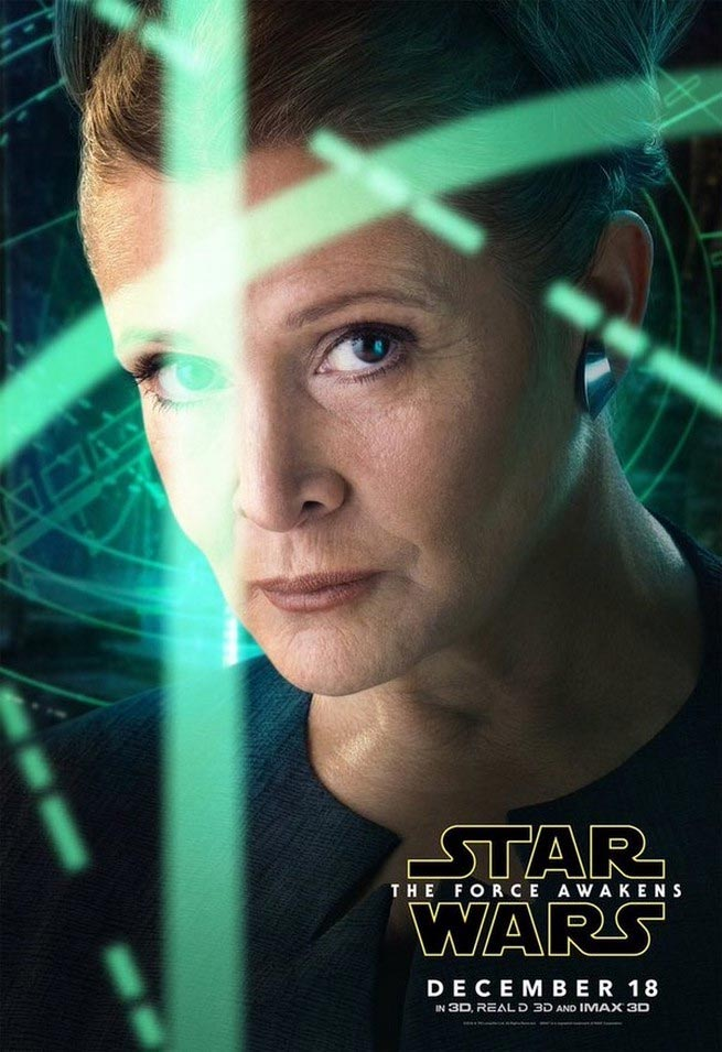 Star-Wars-Force-Awakens-Leia-Poster