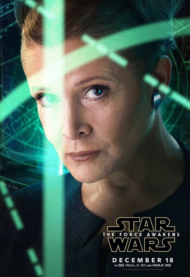 Star-Wars-Force-Awakens-Leia-Poster