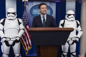 В Белом Доме тоже любят «Звездные Войны»